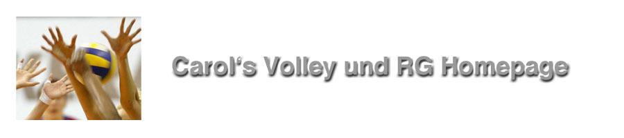 Carol's Volley und RG Homepage